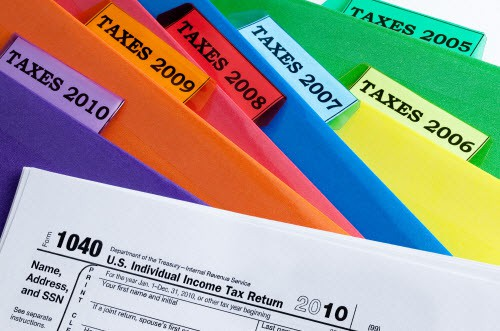 A Guide Organizing and Keeping Tax Records and Returns