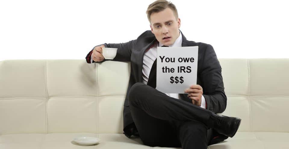 I owe back taxes